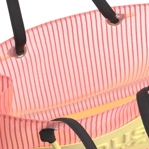 Μεγάλη Κοραλί Τσάντα για Ψώνια Amaya