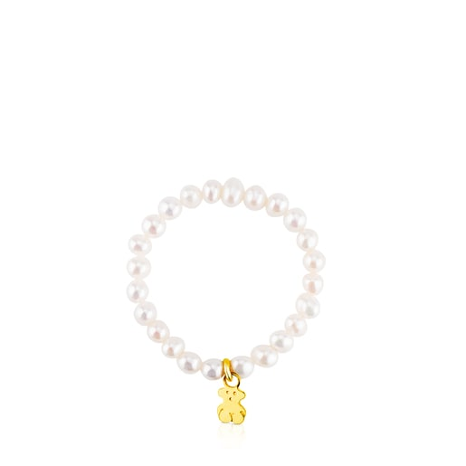 Ring TOUS Pearls aus Gold
