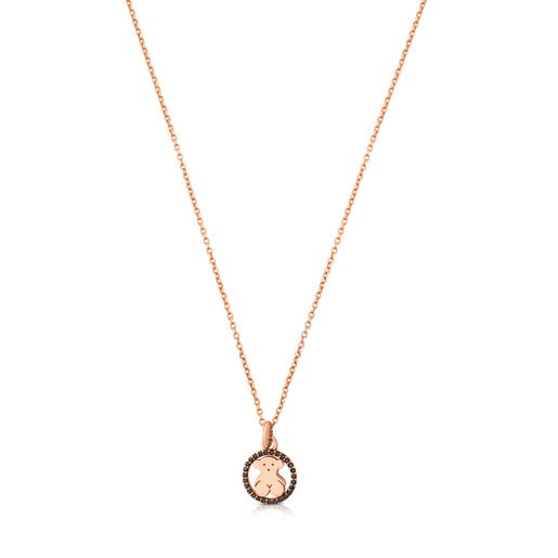 Rose Vermeil Silver Camille Necklace with Spinels