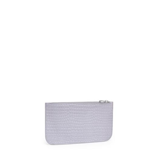 Medium Lilac Dorp Exotic Toiletry Bag