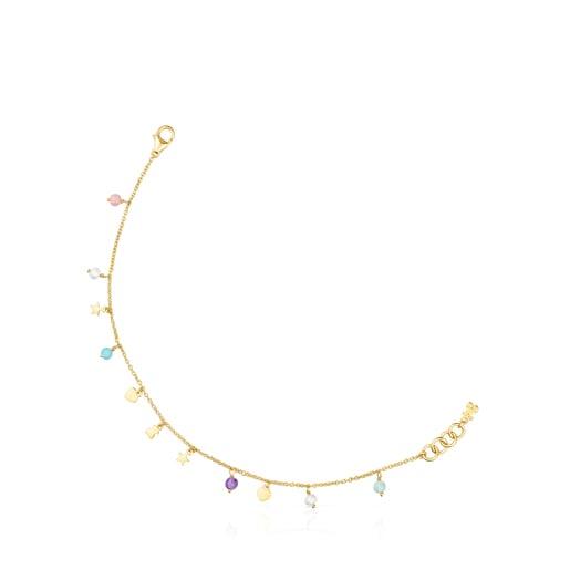 Silver Vermeil Cool Joy Bracelet with Gemstones