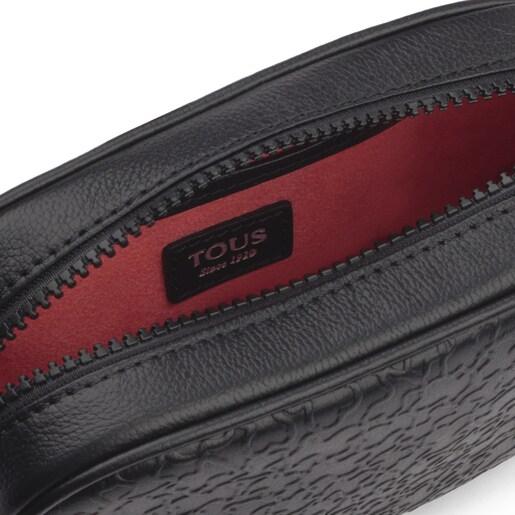 Black leather Sira belt bag
