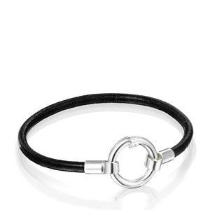 7166ccb4d908 Pulseras de cordón online. Pulseras de plata, cuero y cuerda - TOUS