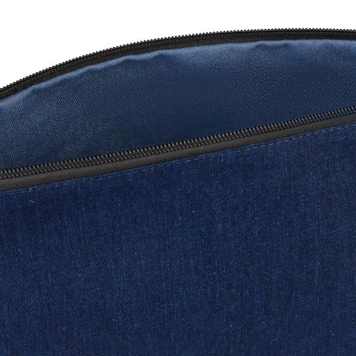 Bolsa pequeña Kaos Shock Reversible jeans