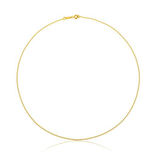 Gargantilla TOUS Chain de Oro de 45cm.