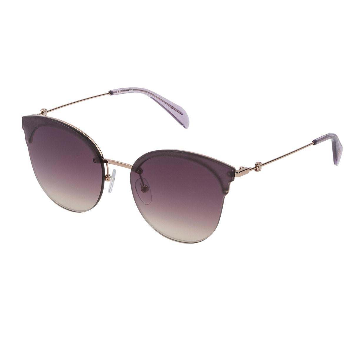 Bronzefarbene Sonnenbrille Metal Matte aus Metall
