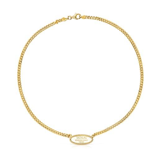 Silver Vermeil TOUS Minne Necklace
