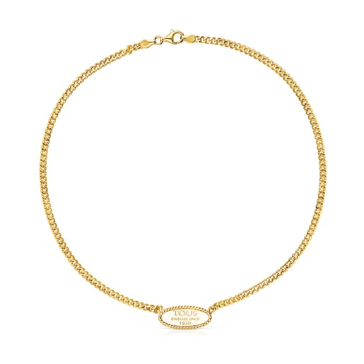 Silver Vermeil TOUS Minne Necklace