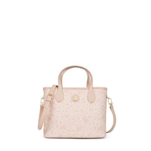 Capazo pequeño Kaos Mini de Lona en color rosa