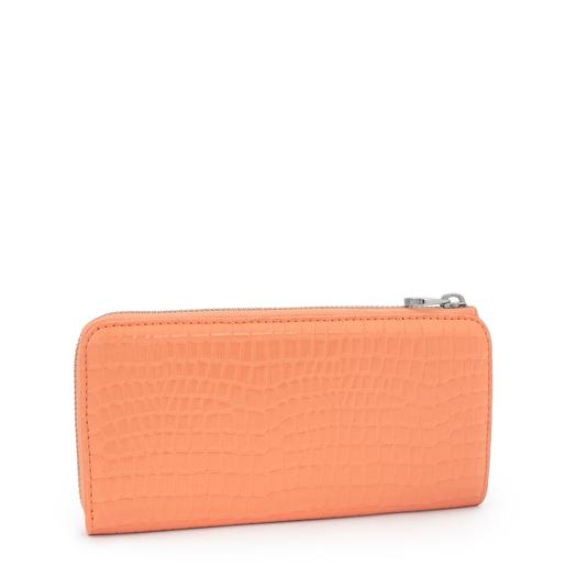 Medium Orange Dorp Exotic Wallet