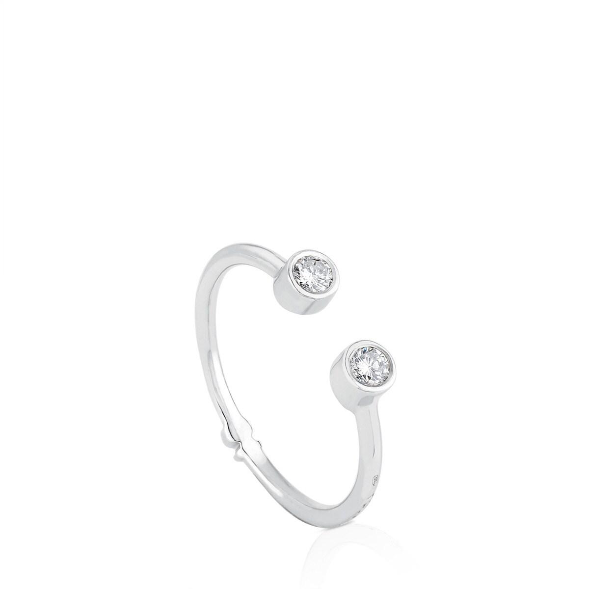 f7cb888c6d83 Anillo TOUS Diamonds de Oro blanco con Diamantes - Sitio web Tous España
