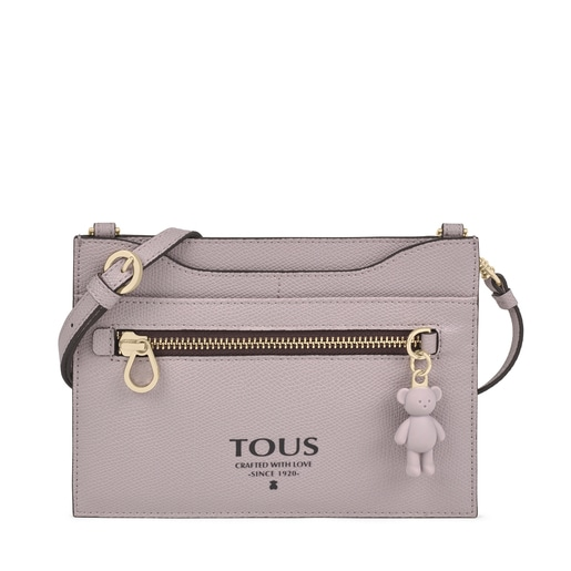 Mauve colored TOUS Pop pendant Cardholder