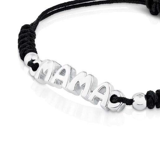 Silver TOUS Mama Bracelet