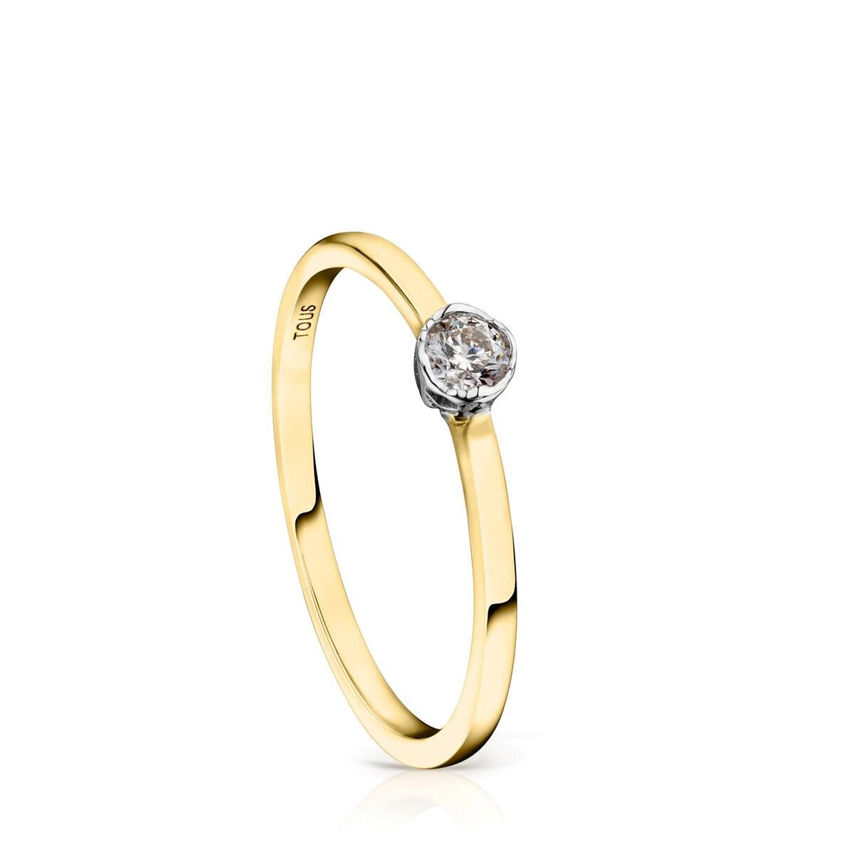 1a5ef3bd516c Anillo Boca Osos de Oro y Diamantes - Sitio web Tous España