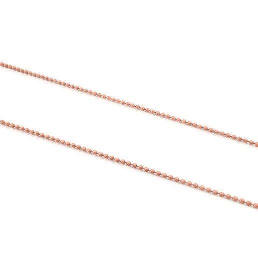 Medium Rose Silver Vermeil TOUS Chain Chain