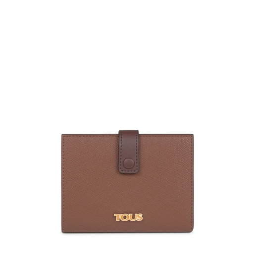 Small brown and mustard TOUS Essential Wallet