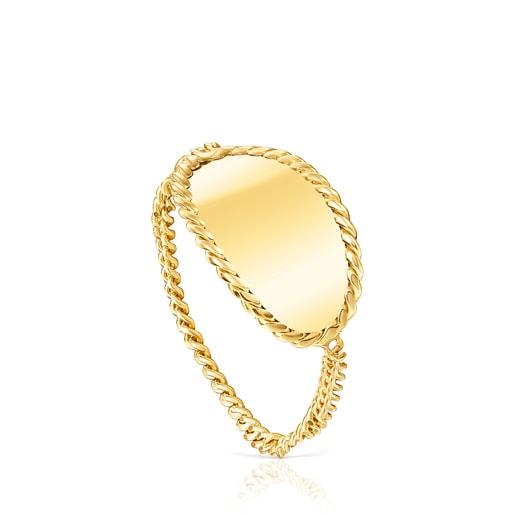 Gold Minne Ring