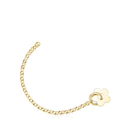 Hold Metal Silver Vermeil Flower Bracelet