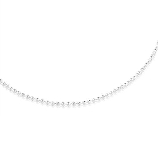 Μακριά αλυσίδα TOUS Chain 80cm από Ασήμι με μπίλιες 3mm.