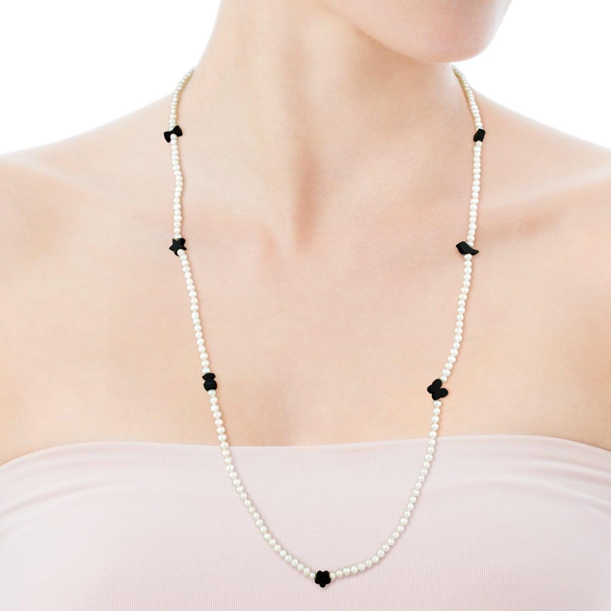 Collar Motif de Perlas