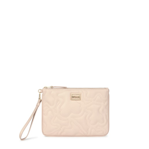 Bolso clutch Kaos Dream beige