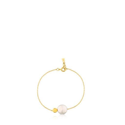 Pulsera Alecia de Oro con Perla
