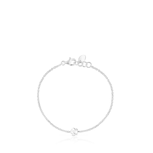 Silver Mini Icons flower-heart Bracelets set