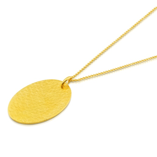 Vermeil Silver Grit Necklace