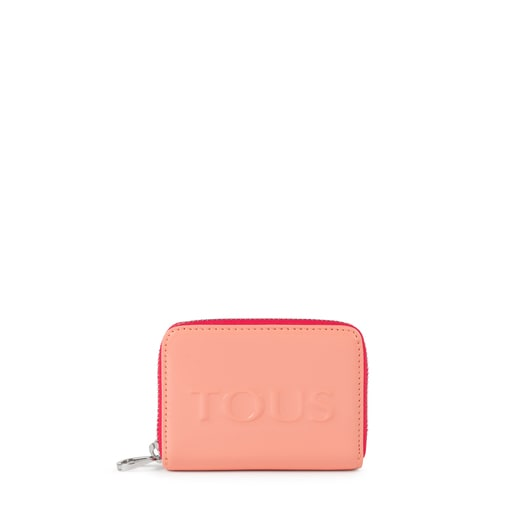 Medium pink Dorp Change purse