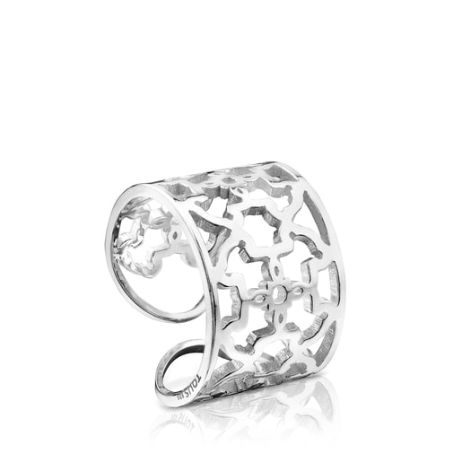 Silver Mossaic Ring