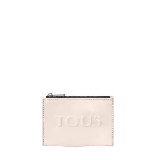 Porte-monnaie et porte-cartes Dorp blanc