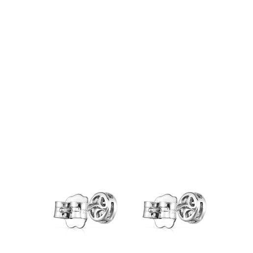 Pendientes Alecia de Oro blanco con Diamantes
