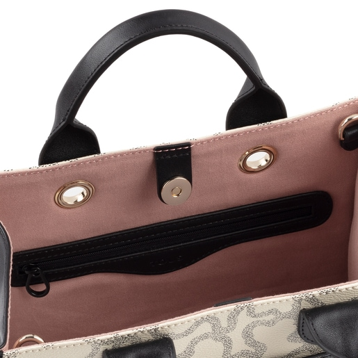 Medium multi-beige Amaya Kaos Icon Shopping bag