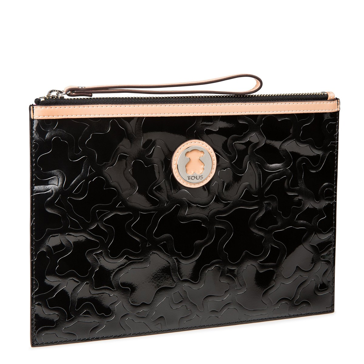 Clutch Kimberly en color negro