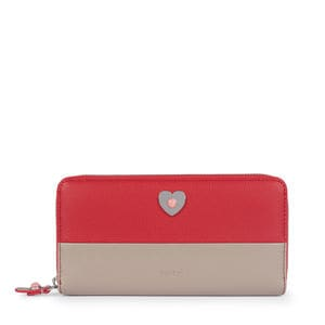 Medium taupe-red Super Power Wallet