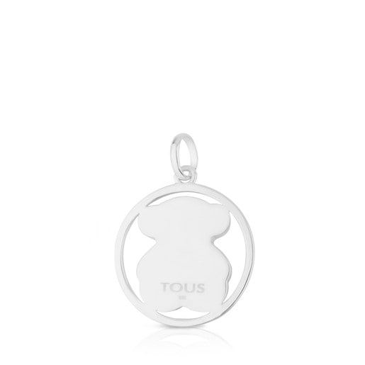 Silver Camille Pendant with Chalcedony
