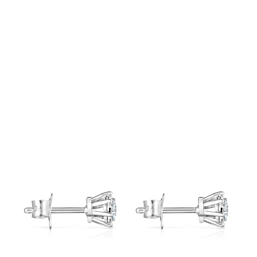 White Gold Les Classiques Earrings with Diamonds