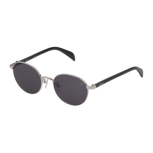 Gafas de sol Metal Bear de metal en color plata