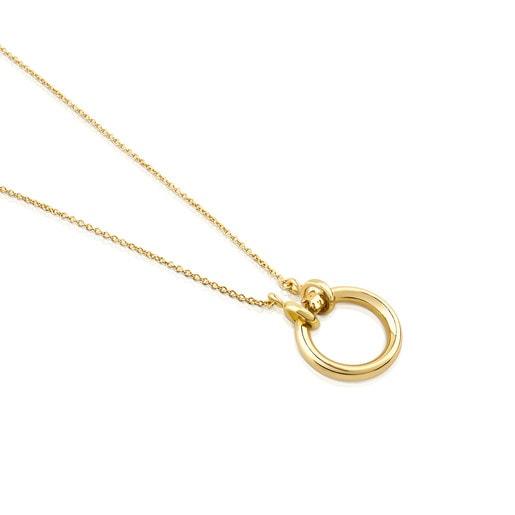 Collar TOUS Hold de oro amarillo 18kt