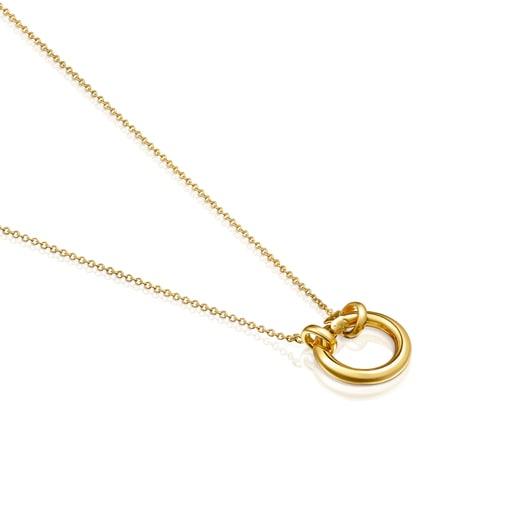Μικρό Κολιέ Hold από Χρυσό Vermeil