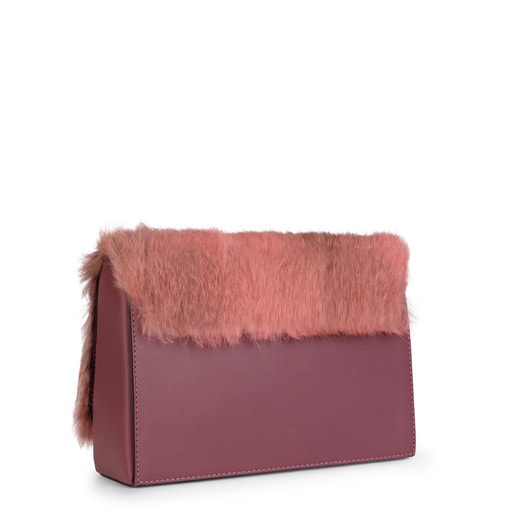 Rossie Warm από Δέρμα σε ροζ χρώμα