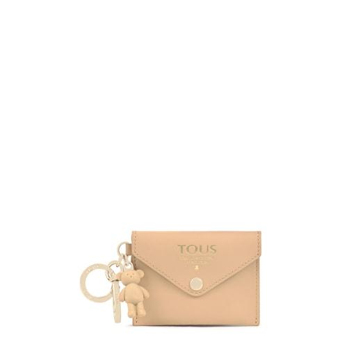 Beige TOUS Envelope Key ring with mini toiletry bag