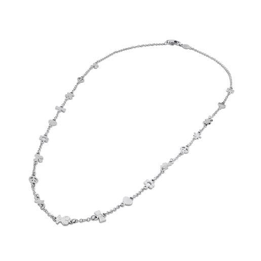 Steel Motif Necklace
