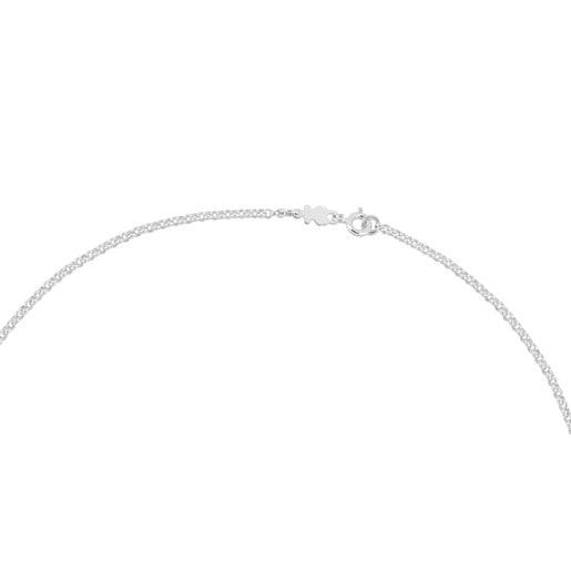 Gargantilla TOUS Chain de Plata con bolas, 45cm.