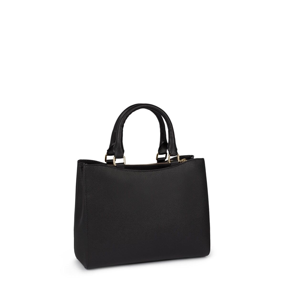 8bfbf6dba14 Μικρή τσάντα City Odalis από Δέρμα σε μαύρο χρώμα - Tous Site Grecia
