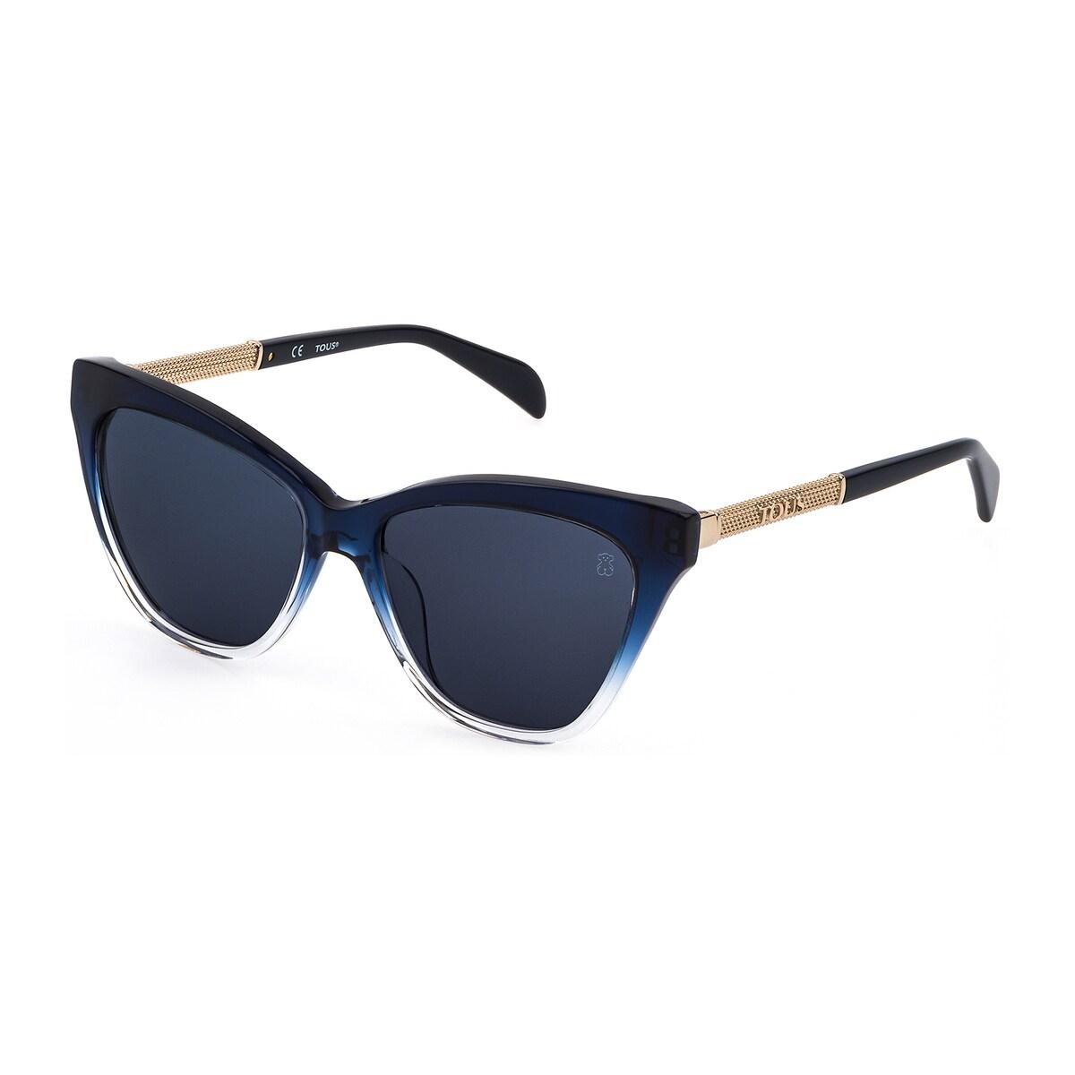 Blue Mesh Sunglasses