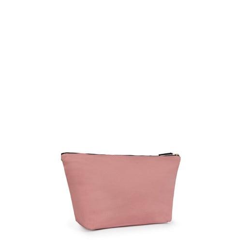 Bolsa pequeña Kaos Shock en color rosa-beige