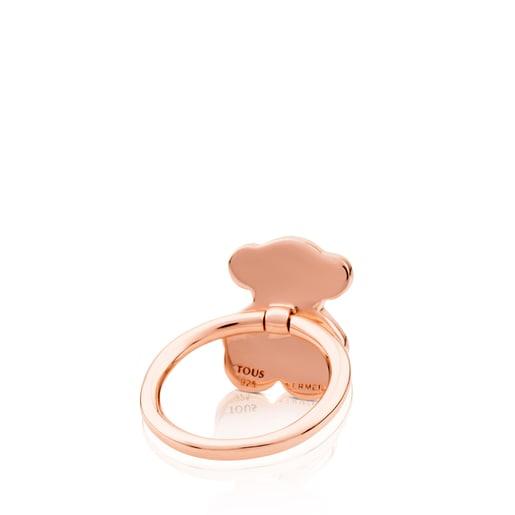 Ring Join aus rosa Vermeil-Silber