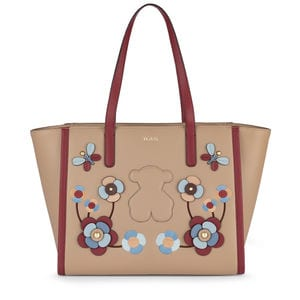 Taupe colored Vera Tote bag