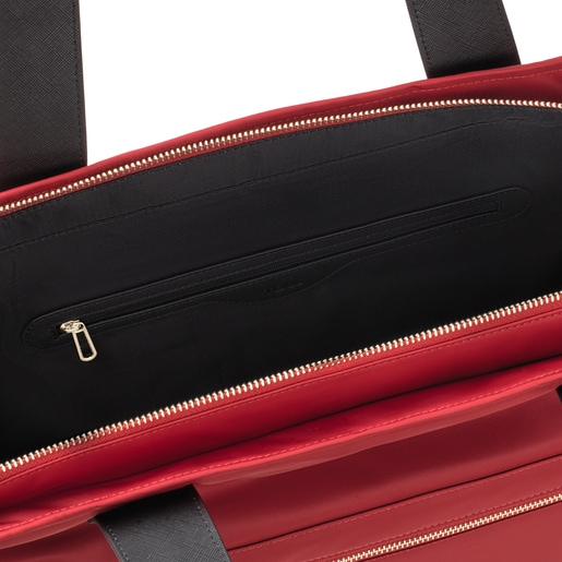 Large red Shelby Tote bag